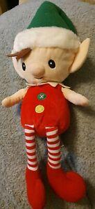 Gund Peppermint Magic Message elf talking soft toy