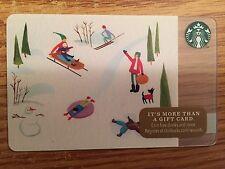 HTF Starbucks Winter Fun Gift Card Never Swiped NO $ VALUE