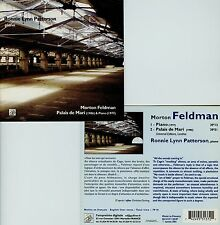 MORTON FELDMAN  palais de mari - piano  RONNIE LYNN PATTERSON
