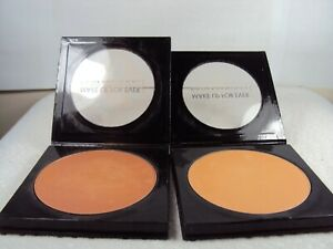 LOT OF 2 Make Up For Ever PROFESSIONAL PAN CAKE Water Foundation 1.24 OZ EACH
