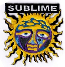 SUBLIME - COLORFUL SUN - IRON or SEW-ON PATCH