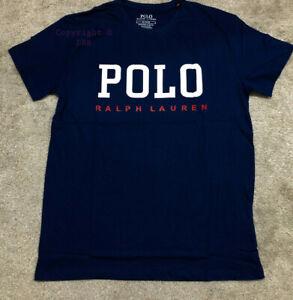 Polo Style Men's Crew Neck Ralph Lauren T-Shirt Short Sleeve 100% Pure Cotton