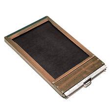 shenhao 5x7 Black Walnut Wooden Film Holder For B&J WISNER LINHOF TOYO WISTA