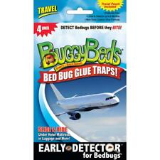 ~ BuggyBeds 4-Count Travel Bed Bug Glue Traps 596130