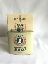 Dad Hip Flask Motor Power Hardware Rustic Vintage Looking Fathers Day Gift