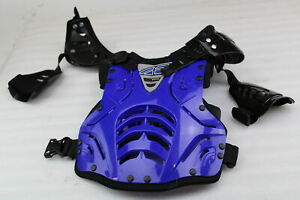 FLY RACING CONVERTIBLE II ROOST GUARD BLUE JUNIOR SIZE LARGE #8000700012