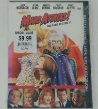Mars Attacks! Dvd 1997 New Sealed Snapcase Aliens Jack Nicholson Tim Burton