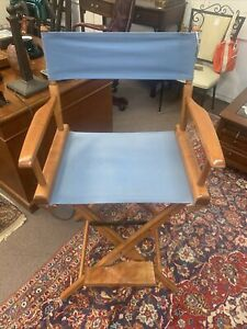 World Famous Telescope Bar Balcony Height Directors Chair Excellent Condition