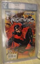 Nightwing 2011 1 PGX 9.4 SS Batman Grayson Kyle Higgins Eddy Barrows Comic