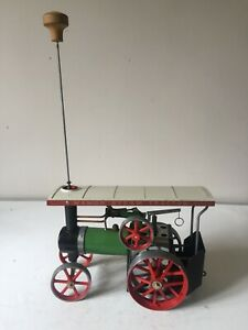 MAMOD TE1A LIVE STEAM TRACTION ENGINE ~ WITH METHS BURNER ~ GOOD USED