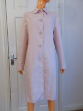 Next Textured Peach Button-Down Fully lined Light Spring Jacket UK16 NWT