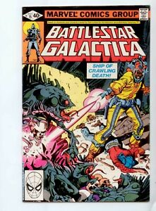 Battlestar Galactica Vol 1  May #15 Ship Of Crawling Death Marvel Comics 1979