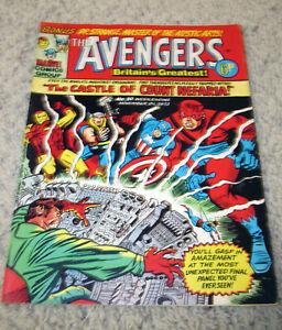 Avengers UK 10 RARE in US Early Jack Kirby B&W art  Bronze Silver HG