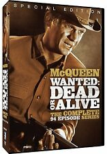 Wanted Dead Or Alive . The Complete Series . SE . Steve McQueen . 12 DVD . NEU