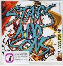 (BS136) Stars And Sons, If It's Good For Me - DJ CD