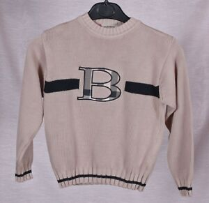 Burberry London  NOVA CHECK sweater Size: 10 Y-140  cm authentic-100%