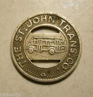 The St. John Trans Co. (Dayton, Ohio) transit token - OH230O