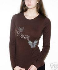NEWTG American Apparel DIY Butterfly Gandhi yoga shirt