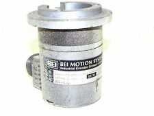 BEI MOTION SYSTEMS E25BE-6R-1024-ABZC-8830-LED-SM18-S ENCODER P/N 924-01013-208A
