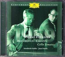Pierre Fournier: Beethoven Chopin Cello Sonata Gulda CD Friedrich jean fonda