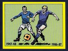 PANINI FOOTBALL 87-#394-CHELSEA-1947-48-PLAYED IN THIS KIT DURING THIS PERIOD