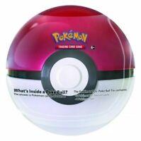 Pokemon TCG Poke Ball Pokeball Tin w/ 3 Packs & 1 Coin NEW SEALED