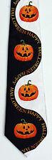Happy Halloween Pumpkins Jack O Lanterns Holiday Novelty Necktie 2101