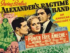 Alexander's Ragtime Band - 1938 - Alice Faye Tyrone Power - Vintage b/w Film DVD