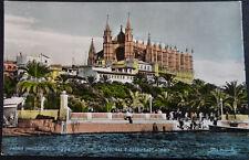 POSTAL PALMA DE MALLORCA CATEDRAL Y DESEMBARCADERO ZERKOWITZ POSTCARD    CC03912