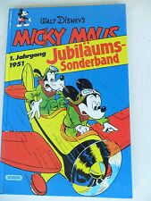 1 x Comic -  Micky Maus  Jubiläums Sonderband 1. Jahrgang 1951- Hardcover-Z. 1-