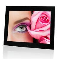 "Digitaler Bilderrahmen 19"" 48 cm Bildschirmdiag. schwarz, MP3, MP4, Filme B-Ware"