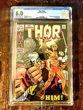 Thor #165 CGC 6.0 1st Appearance of Him (Adam Warlock) Eye Appeal For Grade A+