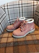 Timberland Womens Pink Waterproof Nellie Chukka Boots Size UK 4