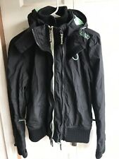 Women's Japan Superdry Windbomber winter snowboard ski Jacket RARE Size Small
