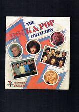 #T72. 1980   PANINI  ROCK & POP MUSIC ARTISTS  STICKER ALBUM, NO STICKERS