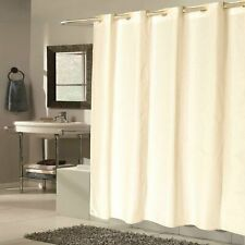 "Carnation Shower Stall-Sized Ez-On® ""Checks"" Polyester Shower Curtain in Ivory"