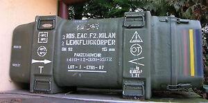 BW GFK Kiste Milan Wasserdicht 132x53x48 Off Road Defender Wolf Unimog MAN Iltis