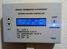 Digital Thermostat Heating-Boiler-Cooling-humidity-Temperature Controler.