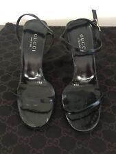 Gucci Black Women's Sandals, 9,5