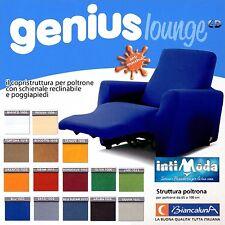 Copripoltrona per Poltrone Reclinabili Relax Genius Lounge Copridivano 1 Posto