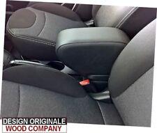bracciolo per Fiat 500L dal 2017 ecopelle nero di qualità-ORIGINALE WOOD COMPANY
