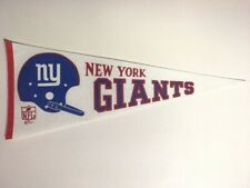 Vintage ©1967 New York Giants Pennant 12 x 29 3/4 -  Near Mint!
