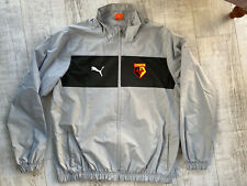 Retro WATFORD Puma Football Training Jacket Size Large