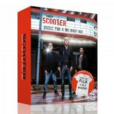 SCOOTER: MUSIC FOR A BIG NIGHT OUT (LIMITED EDITION) CD + T-SHIRT 12 TRACKS NEW+