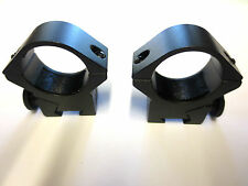 "1""Med Scope rings on 3/8""11mm Dovetail Rail mounts for air rifle hunting shootin"