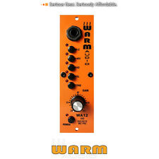 Warm Audio Wa12 500 Series Mic Pre Preamp New Authorized Dealers Full Warranty