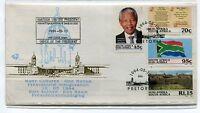 Nelson Mandela Presidential Inauguration 1994 FDC with Rare Printing Error