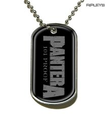 Official Ball Chain Necklace Heavy Metal PANTERA Dog Tag 101% PROOF