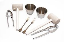Beall's Bay (8) Piece All in One Crab or Lobster Utensil Kit for Two People