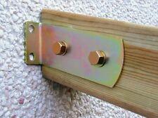 Staffa inclinata per pensiline e travi, supporto inclinato 15° per legno